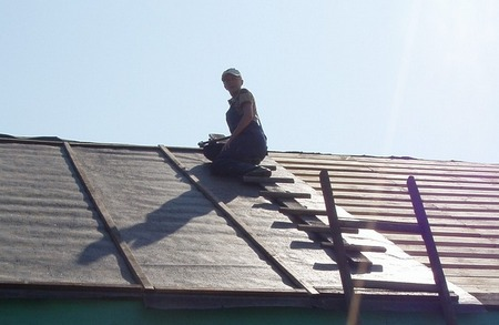 Перекрываем крышу