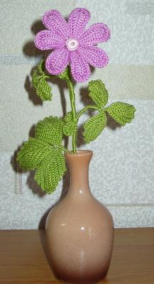 Hand Made. Цветы, связанные крючком. Княженика. Авторская работа Елены Олейниковой