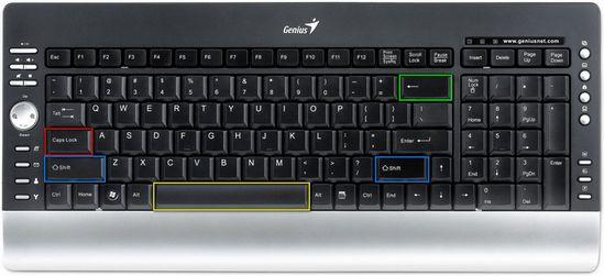 Клавиша Shift на клавиатуре